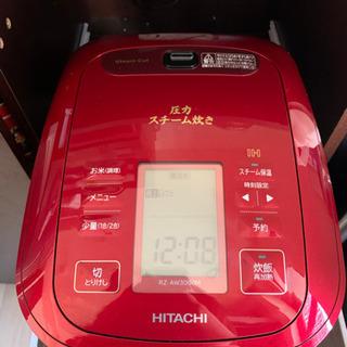 HITACHI 圧力スチーム炊きジャー炊飯器 5.5合 RZ-A...