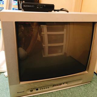 ブラウン管 テレビ 動作確認済 地デジチューナー有 21インチ