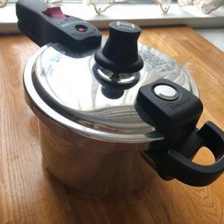 【未使用】圧力鍋 ワンダーシェフ 魔法のクイック料理 片手鍋