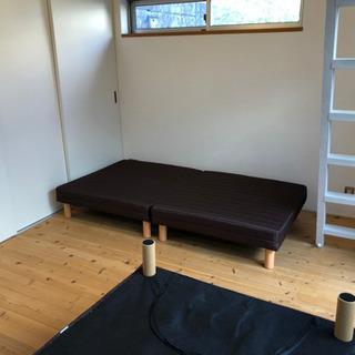 新品 シングルベッド