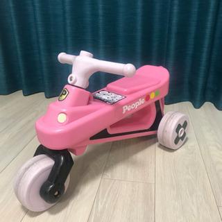 値下げしました公園レーサー ピンク 軽量で持ち運び楽々!