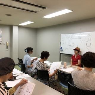 誰でも、3時間で、自動的に絵が描けるワークショップ「快画塾」尾道クラス