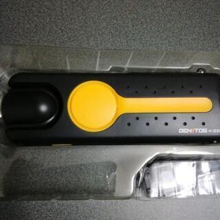 未使用 ジェントス 手巻き充電型LED ラジオ サイレン付き 防...