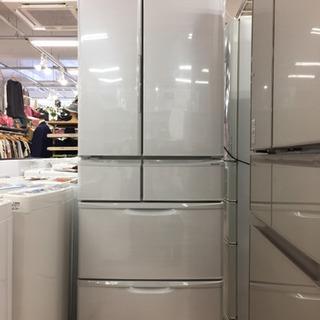 【12ヶ月安心保証付き】SHARP 6ドア冷蔵庫 2017年製