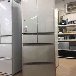 【12ヶ月安心保証付き】HITACHI 6ドア冷蔵庫 2017年製