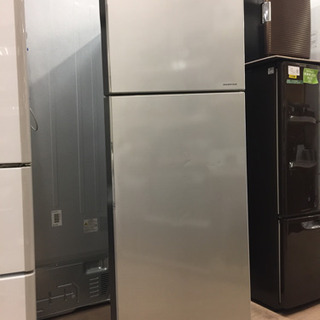 【6ヶ月安心保証付き】HITACHI 2ドア冷蔵庫 2016年製