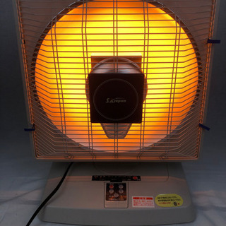 電気ストーブ 速暖ハロゲンヒーター 800w
