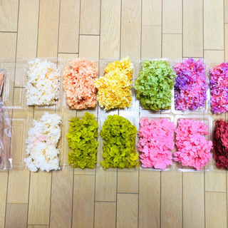 ハーバリウム用花材 プリザーブドフラワーセット