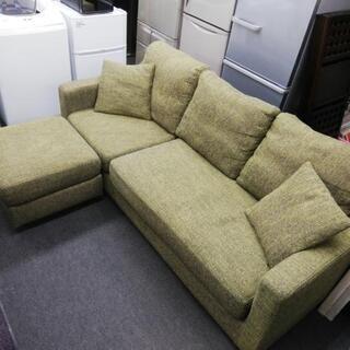 3人掛けL字型ソファー、お売りします。