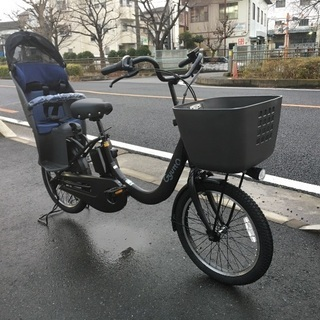 パナソニック子供乗せ電動自転車 ギュットクルームR•EX マット...