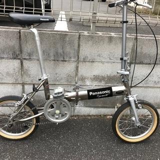 パナソニック トレンクル 超軽量折り畳み自転車