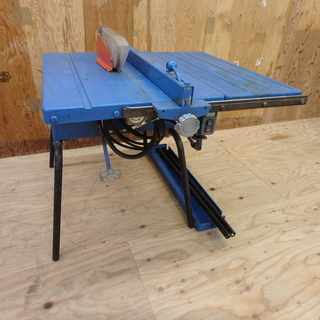 ベンチ丸のこ 動作確認済み 刃径 テーブル 丸ノコ チップソー ...