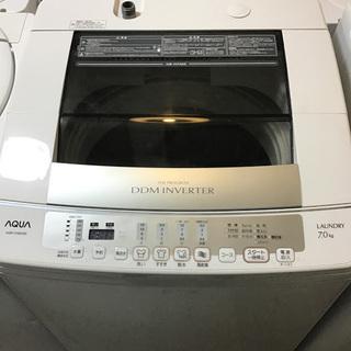 【送料無料・設置無料サービス有り】洗濯機 AQUA AQW-V7...