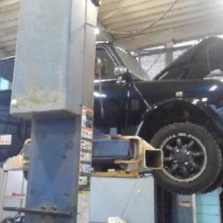 多摩 レンタルピット 2柱リフト、整備工具、タイヤチェンジャー ...