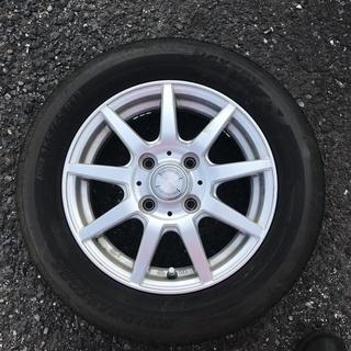 【02】夏155/65/13 4本 平成27年製タイヤ  タイヤ...