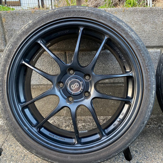 ENKEI エンケイ PF01 18インチ 2本セット タイヤ付き