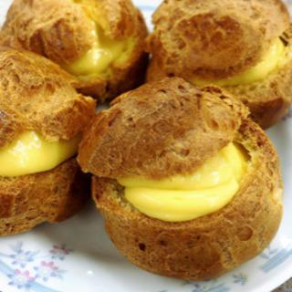 【満員御礼】2/23(日)シュークリーム作り『パンとお菓子の教室』