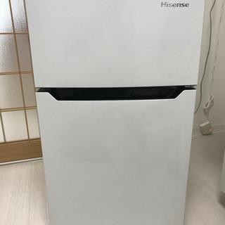 【お取引先決定】ハイセンス製 冷凍冷蔵庫 93L用