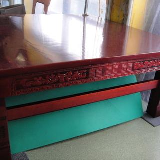 中国風座卓 ローテーブル ちゃぶ台