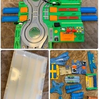 プラレール 大量セット おもちゃ 踏切 電車