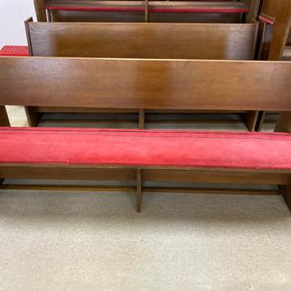 教会で使用していたベンチ