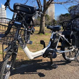 ギュットアニーズ Panasonic 電動自転車 ホワイト