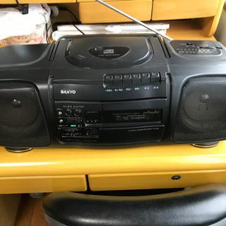 サンヨーAM/FMラジオ付きCDラジカセ PH-PR30