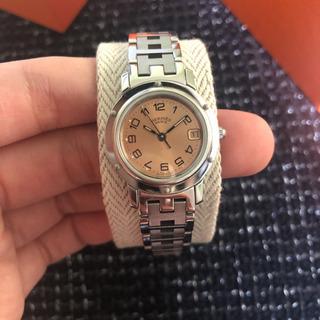 HERMESエルメス腕時計クリッパーCL4.210ステンレススチ...