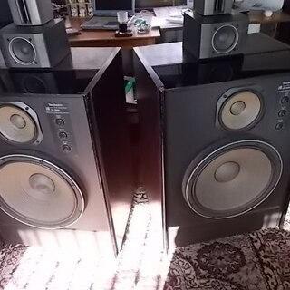 部屋が震える重低音♪稀少スピーカー(テクニクスSB-800…
