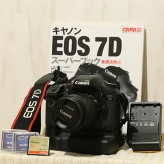 美品 Canon EOS 7D+EFS18-55 IS STM ...