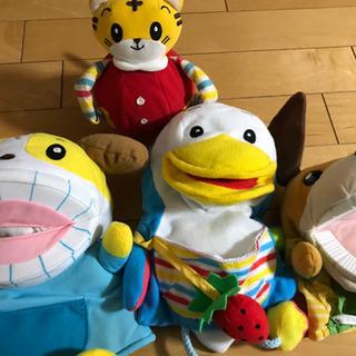 こどもちゃれんじの人形たち