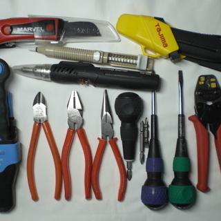 【中古】電工 DIY 電気工事 工具いろいろ