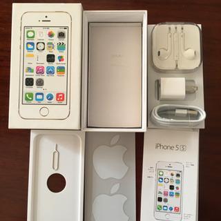 iPhone5S化粧箱と付属品