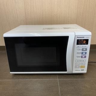 Panasonic 電子レンジ NE-EH225-W ターンテー...