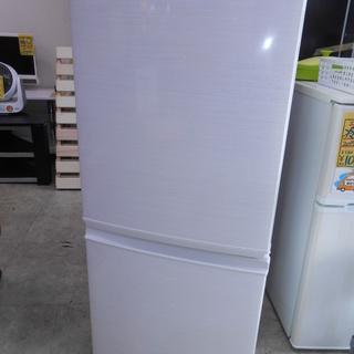 SHARP 2018年製品 137L 2ドア冷蔵庫