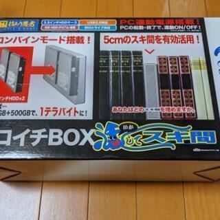 ニコイチBOX ハードディスク増設