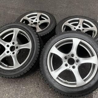 ユーロデザイン 17インチ BMW5シリーズ用 スタッドレスタイヤ付
