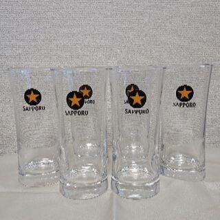 サッポロ黒ラベルビールグラス 6個