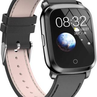 【新品未使用】スマートウォッチ Bluetooth5.0 ガラス...