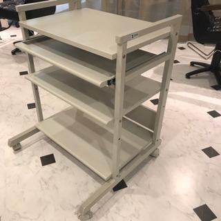 PC収納ワゴンテーブル