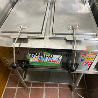 厨房機器 飲食店店舗用品 タニコー ガス餃子グリラー N-TCZ...