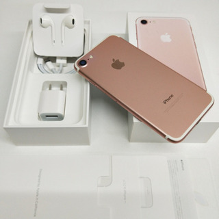 SIMフリー iPhone7 128GB Rose Gold バ...