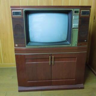 サザエさん家のモデルになったブラウン管テレビ