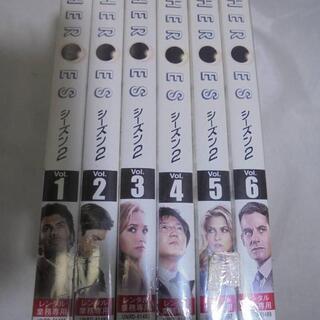 ◆お引取り限定/三重県◆ ヒーローズ シーズン2 DVD 全6巻