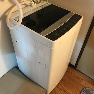 ハイアール 5.5kg 全自動洗濯機 ブラックHaier JW-...