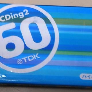 TDK オーディオテープ CD2-60U