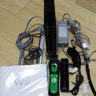 Nintendo Wii&ソフト4本セット