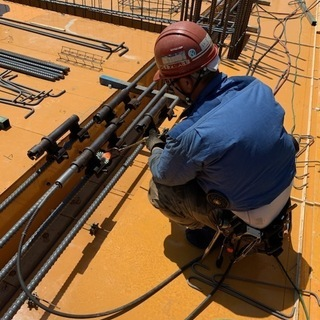 建設現場作業員圧接工職人