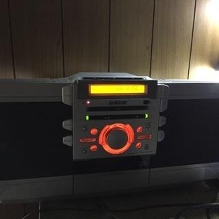 ZS-D55: CDラジカセ  ×CD カセット チューナー 外部入力アンプスピーカーがわりの画像