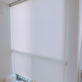 透過ロールスクリーンカーテン * 2つ バラ売りOK  横幅165cm